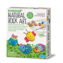 Green Creativity Natural Rock Art