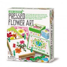 Green Creativity Pressed Flower Art