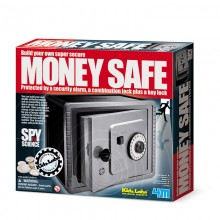 Spy Science Alarmed Safe Bank