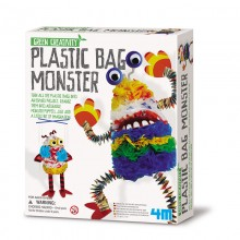 Green Creativity Plastic Bag Monster