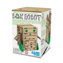 Green Science Box Robot