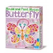 4M Mould and Paint Butterfly Mosaic