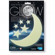 4M Glow in the Dark Moon and Stars