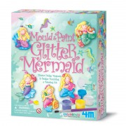 4M Glitter Mermaid Mould and Paint
