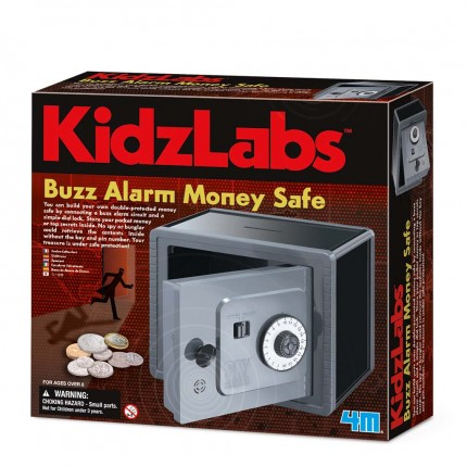 4M Spy Science Alarmed Safe Bank