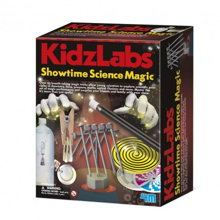 4M Kidz Labs Showtime Science Magic