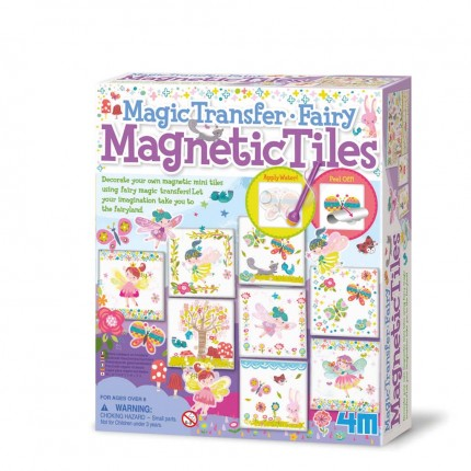 4M Magic Transfer Fairy Magnetic Tiles