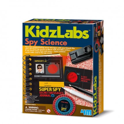 Spy Science Secret Message Kit