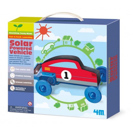 4M Young Minds Solar Powered Vehicle