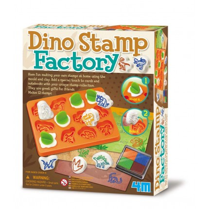 4M Dino Stamp Factory