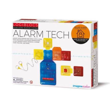 4M Logiblocs Alarm Tech 30+ projects
