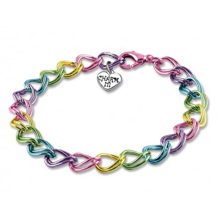 CHARM IT! Multi Double Link Bracelet