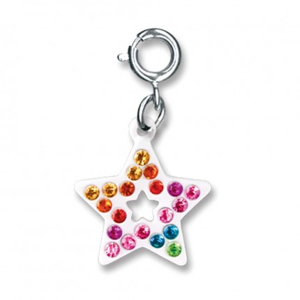 CHARM IT! Rainbow Open Star Charm