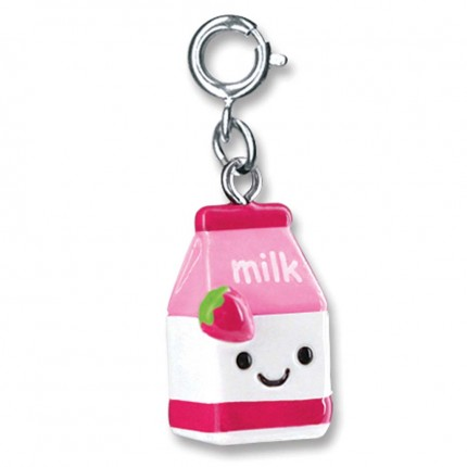CHARM IT! Strawberry Milk Charm