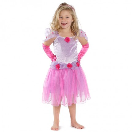 Diva Dress with Gloves - age 4-6