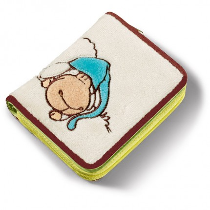NICI Jolly Sleepy Plush Wallet