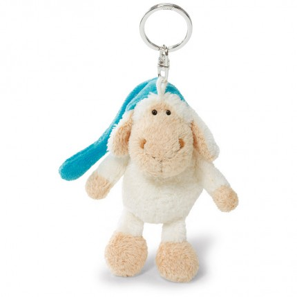 NICI Jolly Sleepy Sheep Bean Bag Keyring