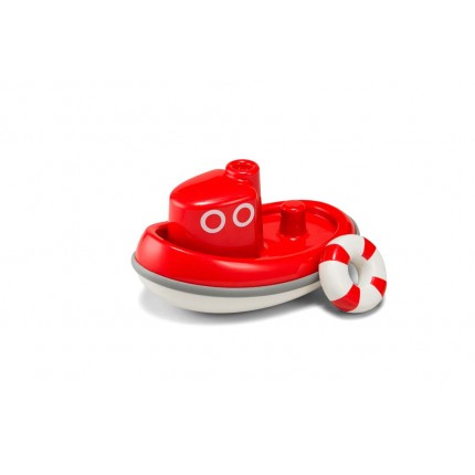 Kid O Tug Boat Red Bath Toy