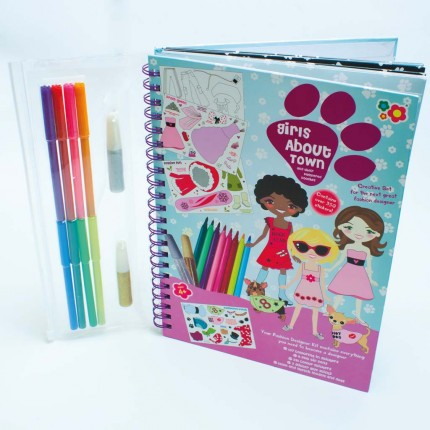 Meadow Kids Girl About Town Activity Book