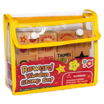 Meadow Kids Reward Wooden Stamp Set