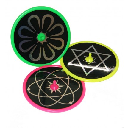 Laser Spinner 3 Pack Assorted Colours