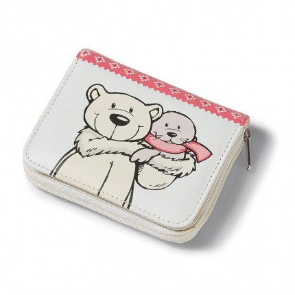 NICI Polar Bear and Seal Wallet