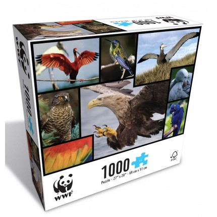 WWF Birds 1000 Piece Puzzle