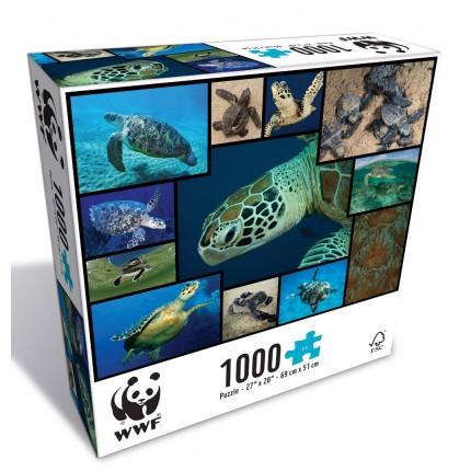 WWF Sea Turtles 1000 Piece Puzzle