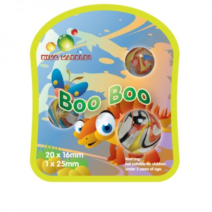 King Marbles Boo Boo Classic Marbles