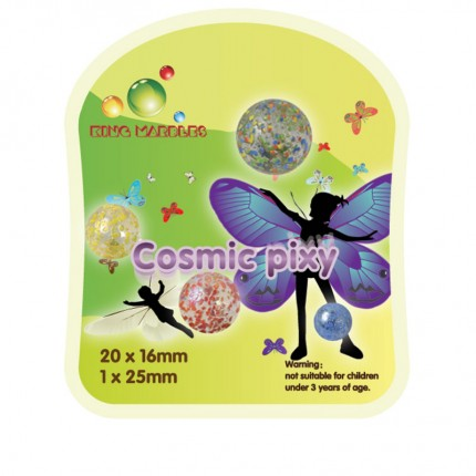 King Marbles Cosmic Pixy Mighty Max Marbles