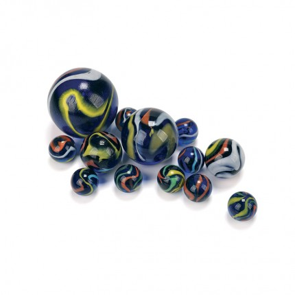 King Marbles Deep Orchid Awesome Ally Marbles