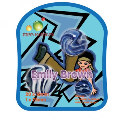 King Marbles Emily Brown Mighty Max Marbles