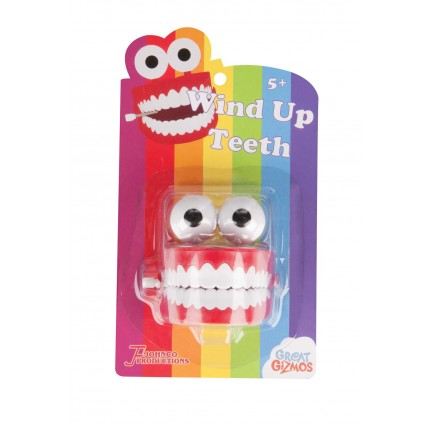 Great Gizmos Wind Up Teeth