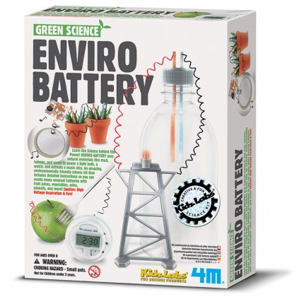4M Green Science Enviro Battery