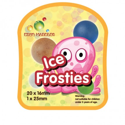 King Marbles Ice Frosties Happy Henry Marbles
