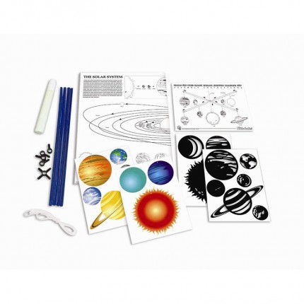 4M Kidz Labs Solar System Mobile Making Kit