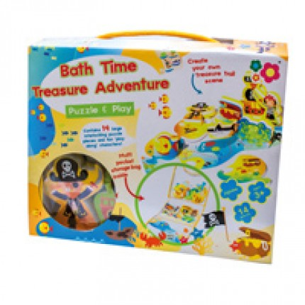 Meadow Kids Treasure Adventure Puzzle and Play Bath Toy