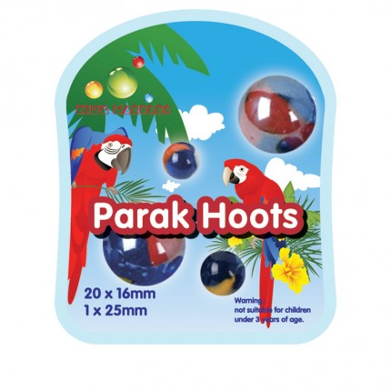 King Marbles Parak Hoots Classic Marbles
