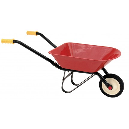 Red Classic Wheelbarrow