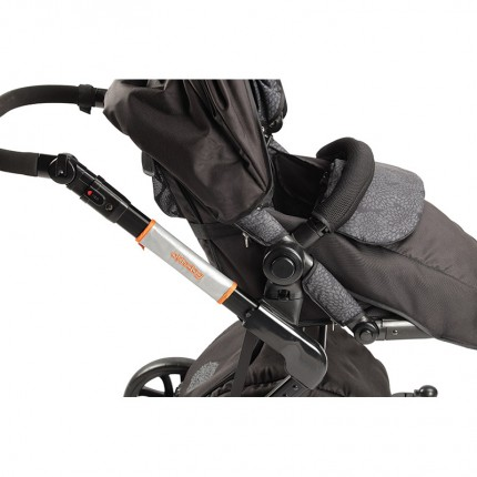 Reflective Safety Shield for Pushchair