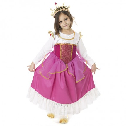Reversible Fairytale Pinafore Dress - age 4-6