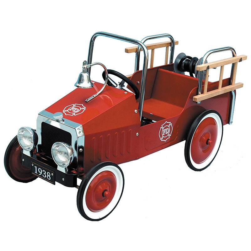 Fire Engine Classic Pedal Car Great Gizmos