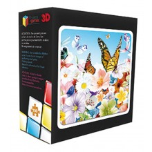 3D 100 Piece Butterfly Puzzle