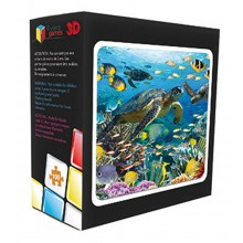 3D 100 Piece Sealife Puzzle