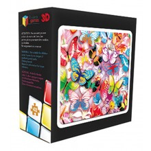 3D 48 Piece Butterfly Puzzle