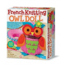 4M French Knitting Owl Doll Making Kit