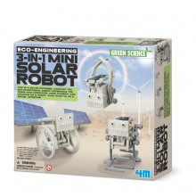 4M Eco Engineering 3 in 1 Mini Solar Robot