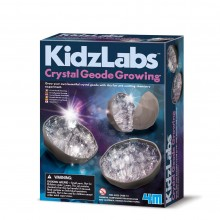 4M Crystal Geode Growing