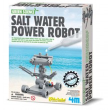 4M Green Science Salt Water Power Robot