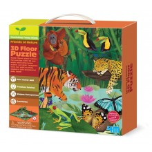 4M Young Minds 3D Floor Puzzles Rainforest
